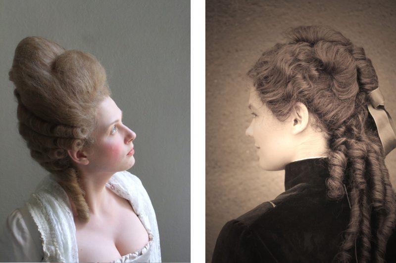 Historische Frisuren Steffi Trattler